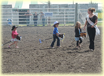 Stick horse competition